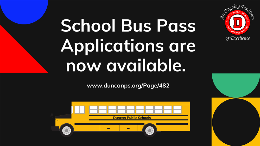 2020-2021 School Bus Applications Available Now